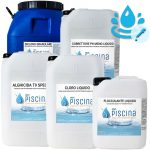 Kit PH e REDOX-CLORO CONTROL per Mantenimento acqua Piscina - da 100 a 200 mc