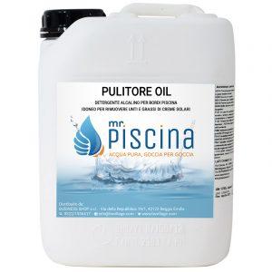 cura e manutenzione dei componenti della piscina Pulitore-oil